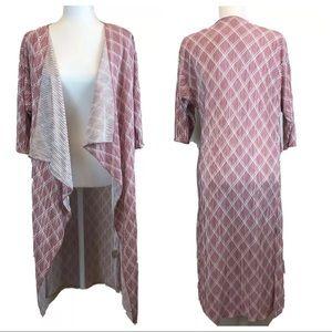 LuLaRoe Shirley Kimono Waterfall Cardigan (EUC)